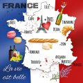 "Napkin/Luncheon- ""La Vie Est Belle"" (A Beautiful Life)-Pkg of 20"