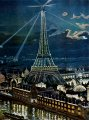 ~Card - Birthday - Eiffel Tower at Night Design by Caspari