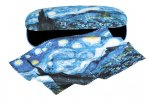 Eye Glass Case & Matching Cleaning Cloth, Fine Art -Starry Night