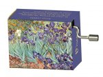 Music Box - Irises, Van Gogh, Melody: Fur Elise