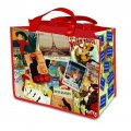 "Tote Bag - Reusable - ""Paris Patchwork"" Collage Design"