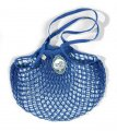 Filt French Market Net Bag - Bright Blue Color- MEDIUM size