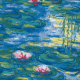 "Napkin/Beverage - ""Nympheas"" (Waterlilies) by Monet"