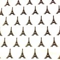 ~Tissue Paper - Eiffel Tower Design on White Tissue (30 ct)