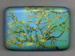 "Credit Card Case (Armor Wallet) ""Almond Blossoms"" by Van Gogh"